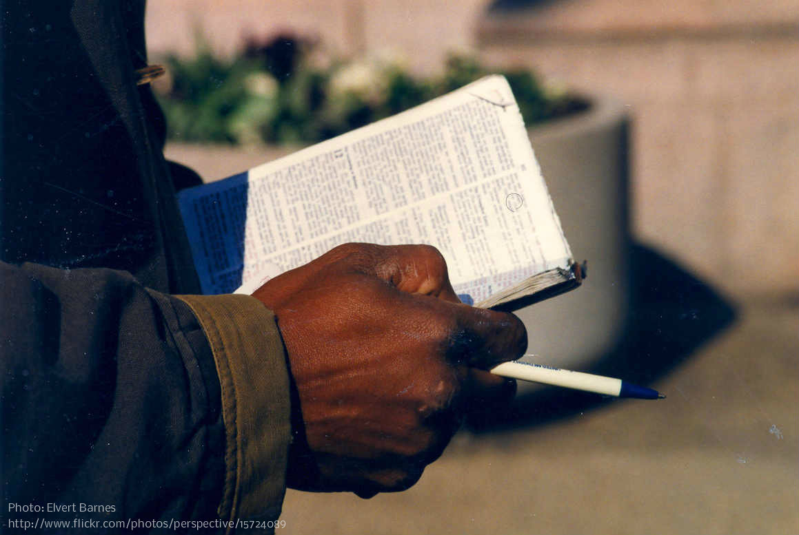 bible - elvert barnes - flickr - cc